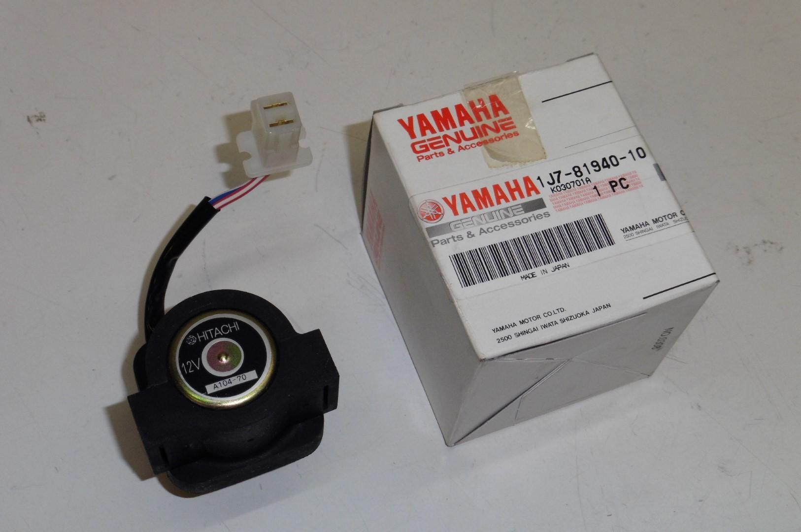 Starter Relais Anlasser Magnetschalter Switch Yamaha Xs 250 360 400 Hitachi Wiring 1j7 81940